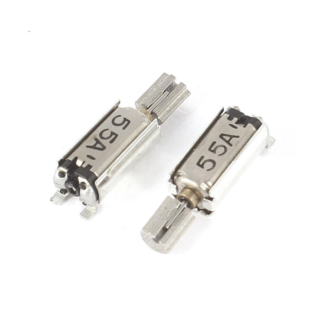 2 Pcs 15000-20000PRM Micro Vibrating Vibration Motor DC 1.5-3V 0.04-0.09A