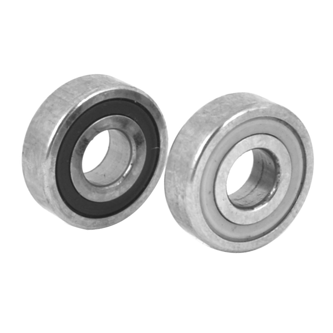 2 Pcs DIY 4 WD Racer Car Model Part Shaft Bearing Washer Screw Combined Bumper Pads Set