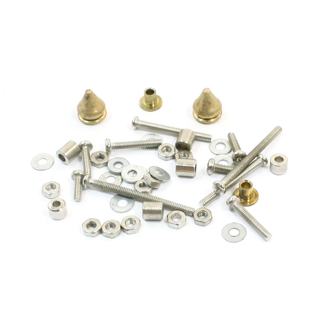 Metal Screw Spacer Sleeve Combination Mass Damper Set Mini 4WD Car Racer Grade Up Parts Series