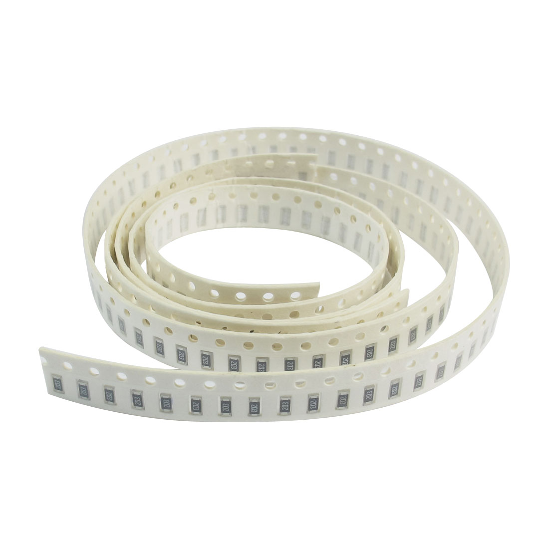 200 Pcs 1206 20K Ohm Resistance 1/4Watt 5% Tolerance Surface Mounting SMT SMD Chip Resistors Strip