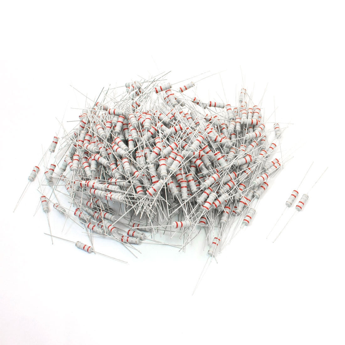 500Pcs 1W 0.22 Ohm 5% Tolerance Metal Oxide Film Resistor Axial Lead
