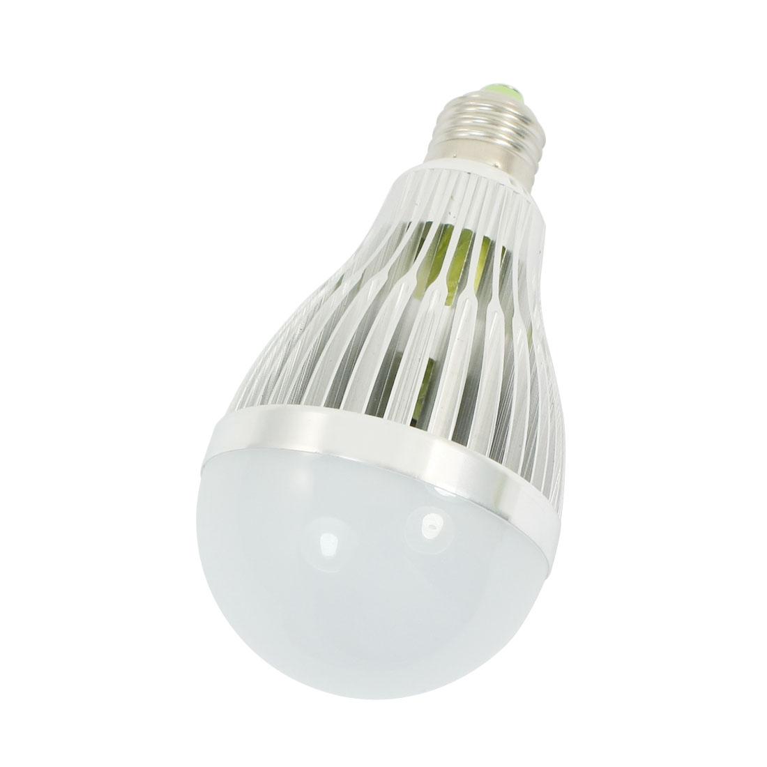 E27 Base 6000-6500K 1200Lm White 12 x 1W LEDs SMD Globe Ball Light Lamp AC 85-265V for Home Office