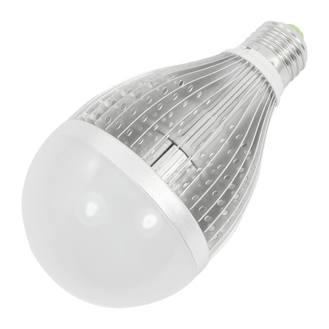 Household Indoor E27 10 x 1W LEDs 1000Lm 3000-3500K Warm White Globe Ball Light Bulb Lamp AC 85-260V