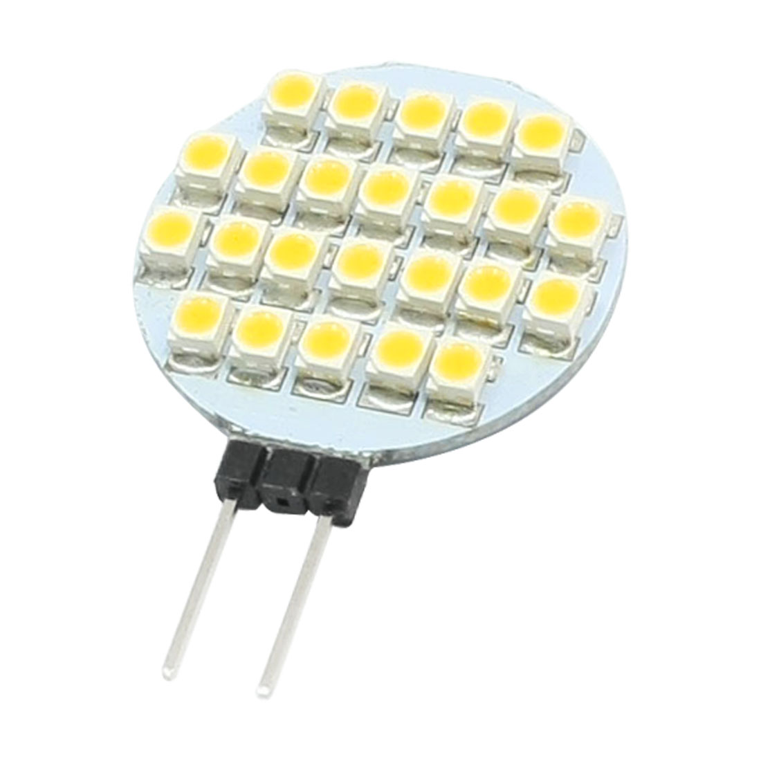 Car Auto Truck Vehicle Warm White G12 Base 3528 SMD 24 LED Car 2 Side Plug Pin Light Bulb Lamp DC12V Internal