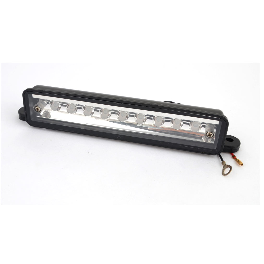 Auto Car White 9 LED Reversing Signal Light License Plate Lamp
