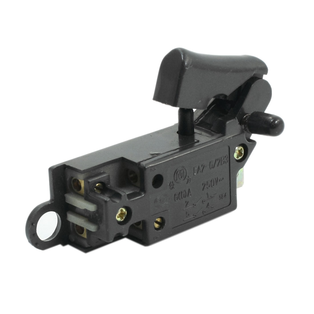 Replacing DPST 2N/O Trigger Switch for Hitachi 150 G15SA Angle Grinder