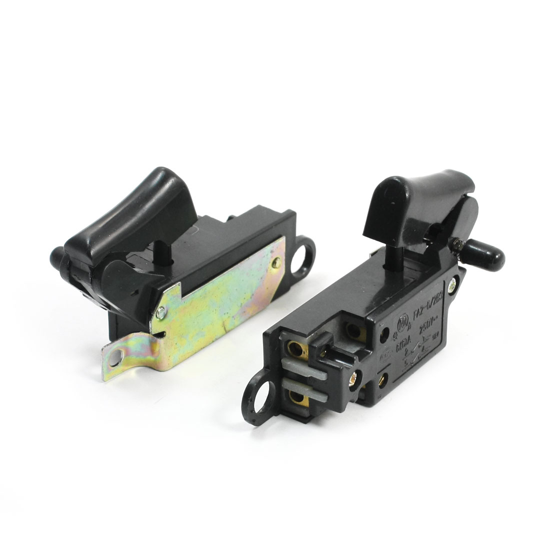 2 Pcs Manual Operation Locking Angle Grinder Switch for Hitachi 150 G15SA