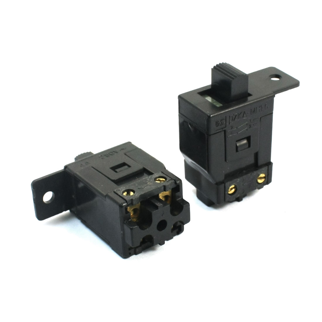 2pcs Power Tool Parts DPST Latching Switch for Dragon 100 Electric Grinder