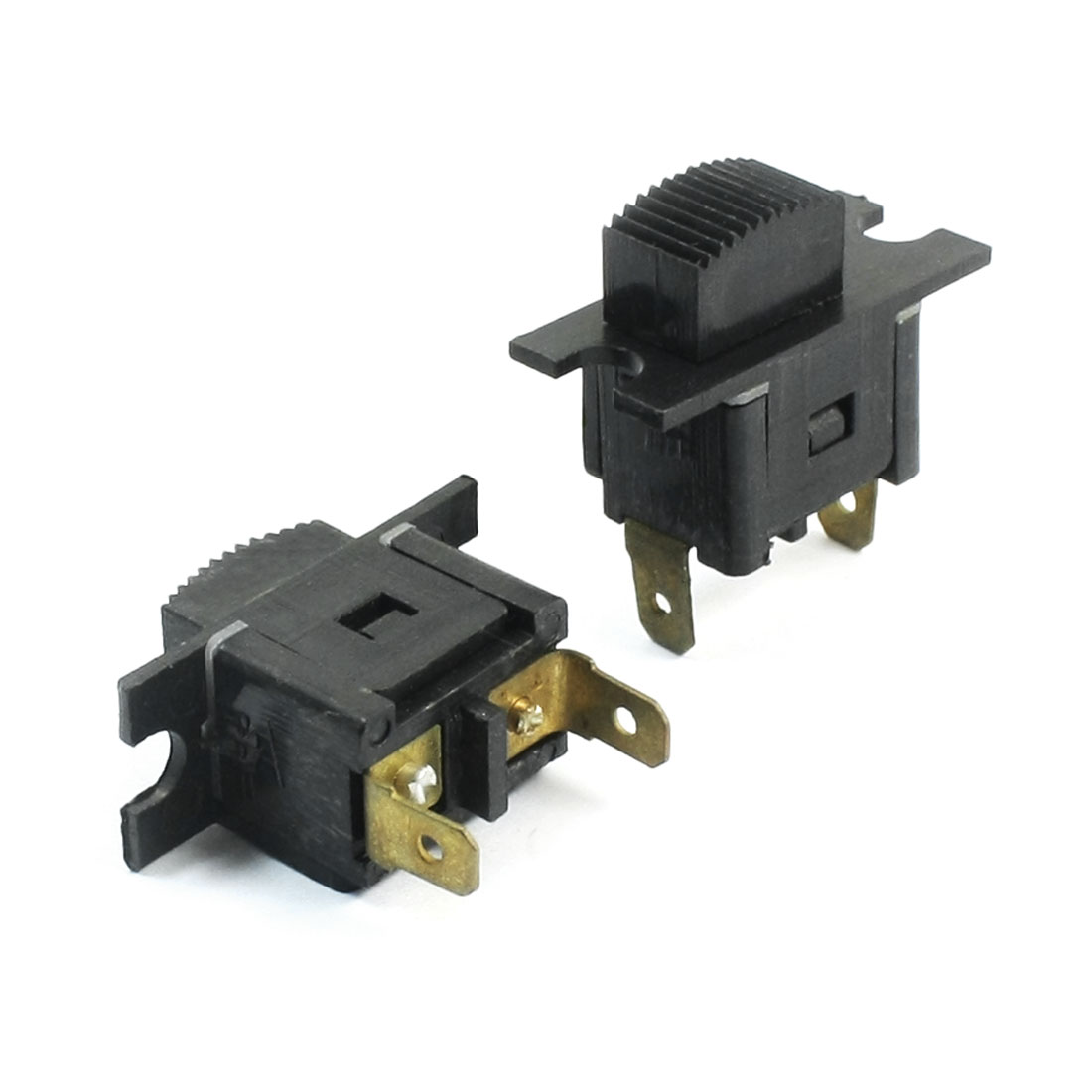 2pcs AC 250V 4A SPST Self Locking Power Switch for Makita 4510 Polish Machine