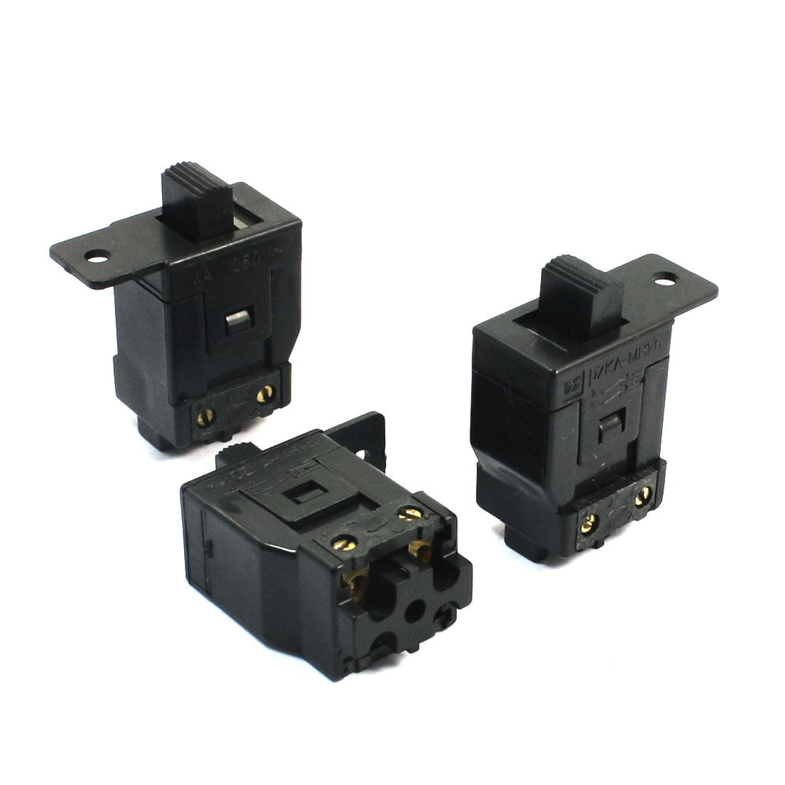 3pcs Replacement Self Locking Switch DPST for Dragon 100 Electric Grinder