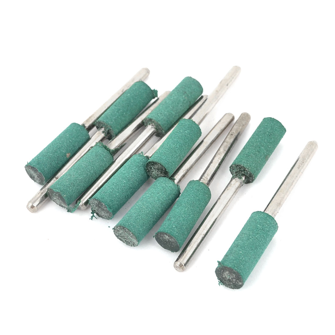 10 Pcs Alloy Shank Mounted Grinding Point Sharpening Tool 3mm x 6mm x 17mm