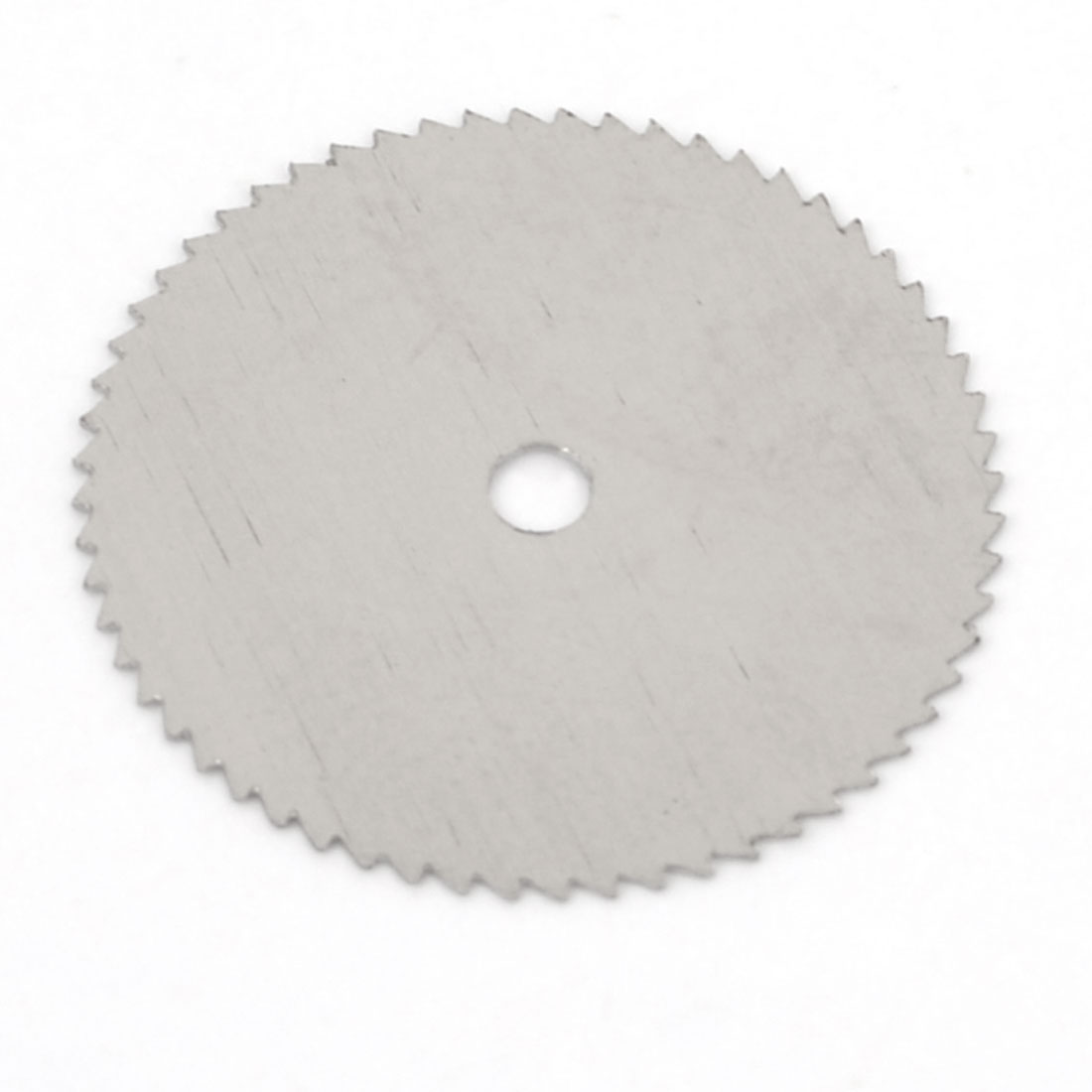 Silver Tone HSS Woodworking Circular 18mm Dia 2mm Arbor Hole Diameter 0.35mm Thickness Nitride Slitting Saw