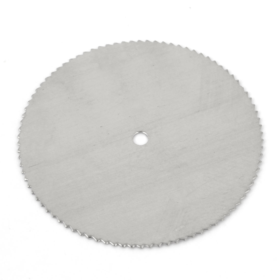 Silver Tone HSS Woodworking Circular 32mm Dia 2mm Arbor Hole Diameter 0.35mm Thickness Nitride Slitting Saw Cutter