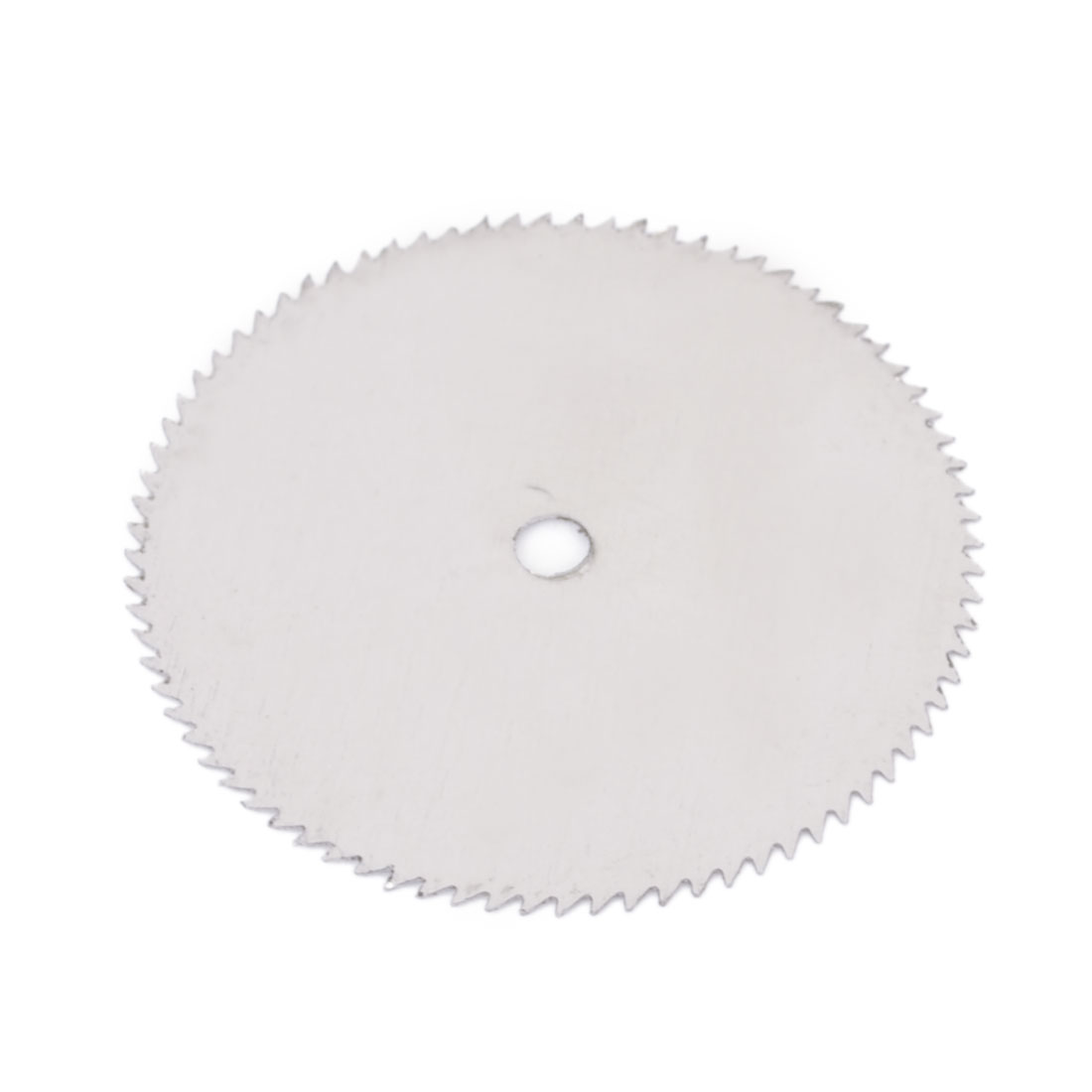Silver Tone HSS Woodworking Circular 25mm Dia 2mm Arbor Hole Diameter 0.35mm Thickness Nitride Slitting Saw