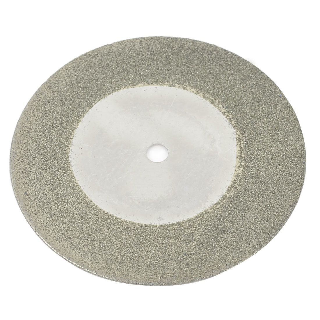 Silver Tone 40mm Dia Diamond Coated Glass Grinding Cutting Cut-off Wheel Disc