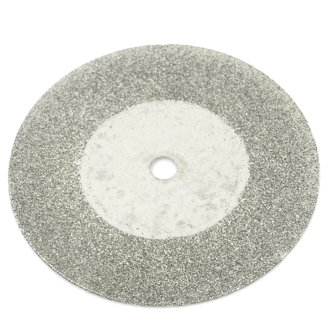 Silver Tone 35mm Dia Diamond Coated Glass Grinding Cutting Cut-off Wheel Disc