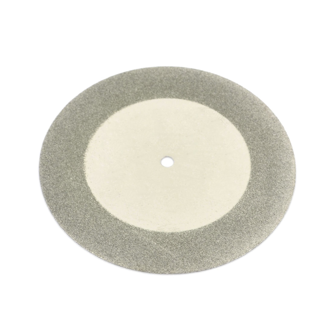 Silver Tone 60mm Dia Diamond Coated Glass Grinding Cutting Cut-off Wheel Disc