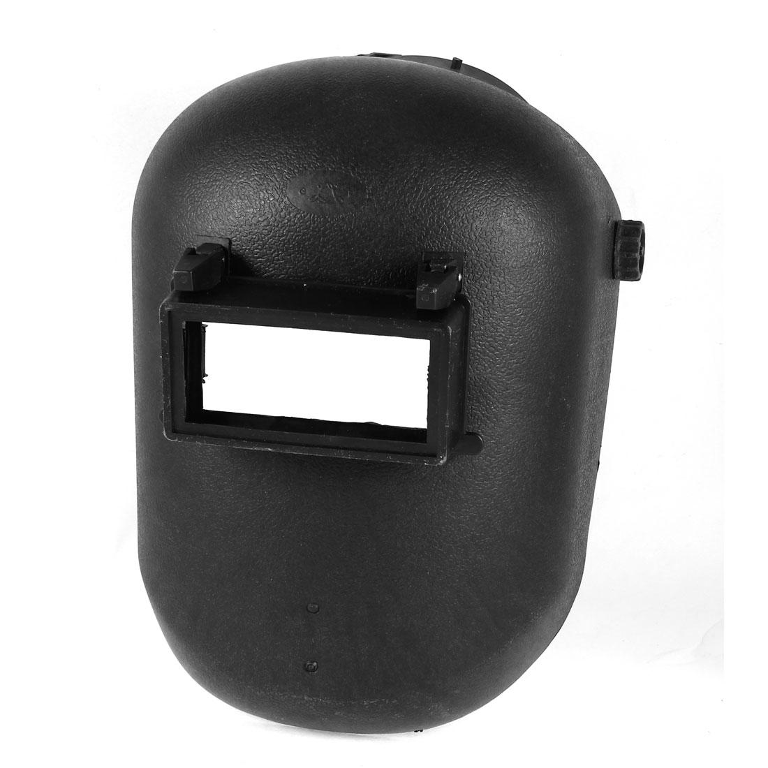 Black Plastic Headgear Design Adjustable Electric Welding Protecting Mask Helmet