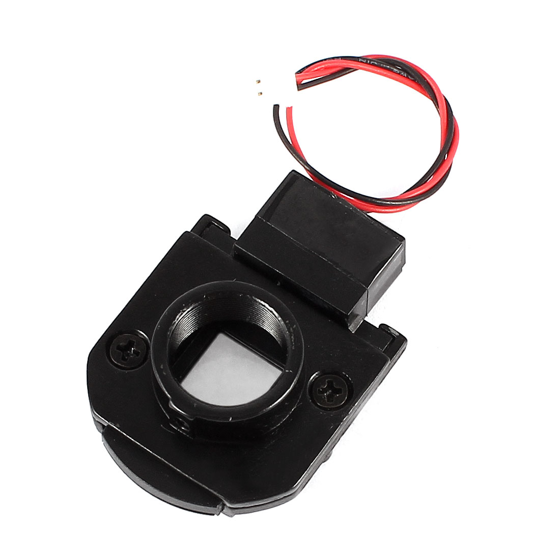 Black Infrared IR-CUT Filter Switch for CCD Surveillance Big Lens Housing
