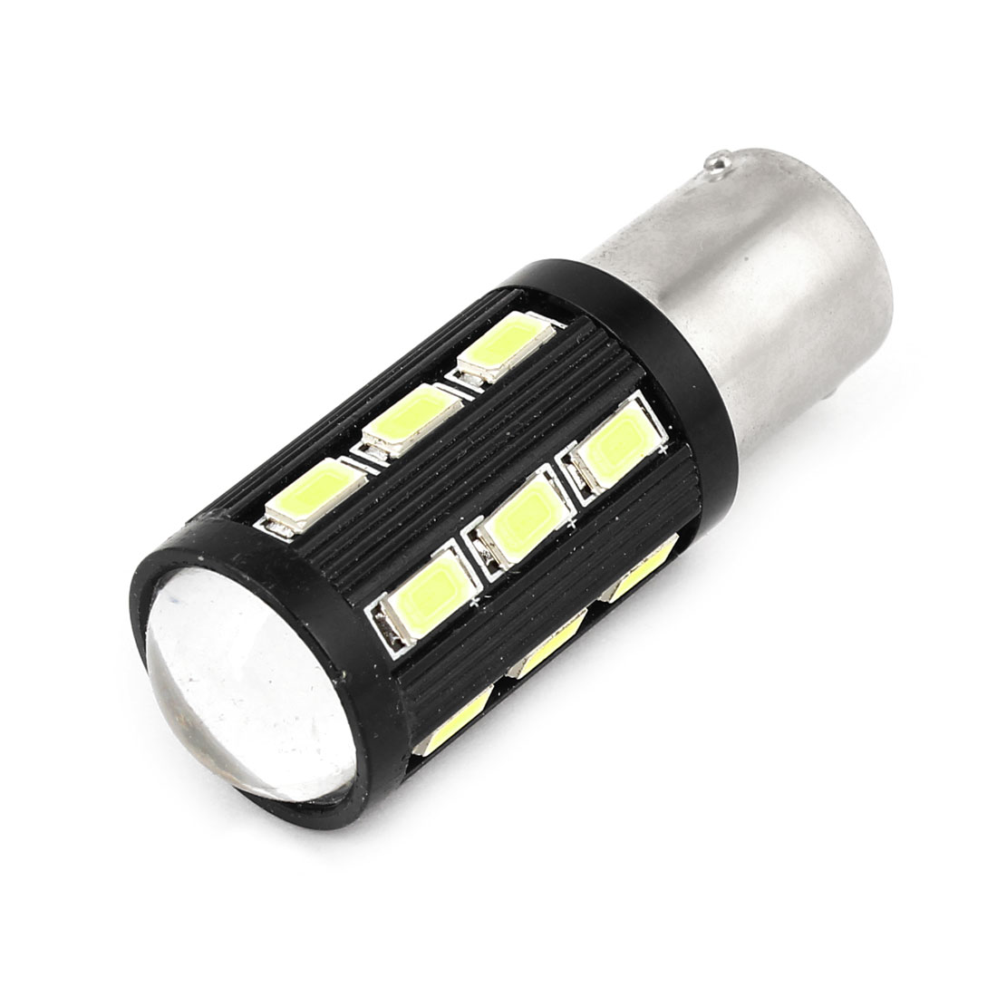 BA15S 1156 18 White 5630 SMD LEDs R3 Lens LED Auto Car Turn Signal Lamp 1.5W 12V