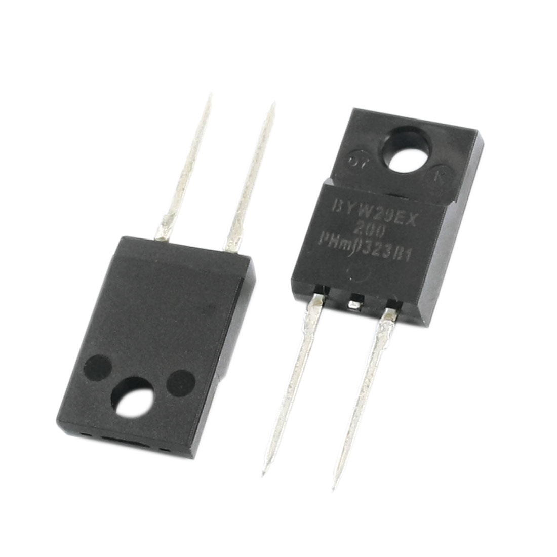 2Pcs BYW29EX-200 Electronic Ultrafast Recovery Rectifier Diode