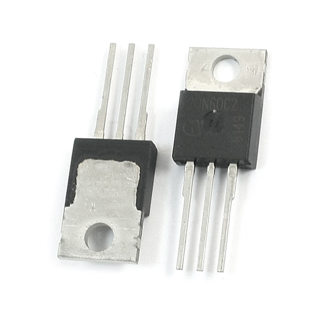2Pcs SPP20N60C2 650V 20A N Channel MOS Field Effect Power Transistor
