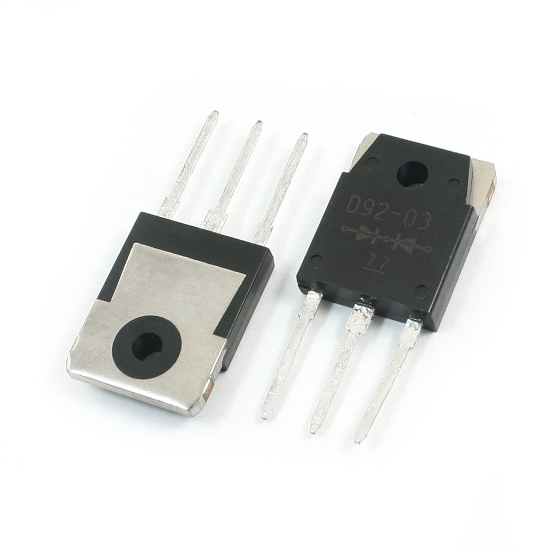 2Pcs ESAD92-03R Electronic 3 Pins Fast Recovery Rectifier Diode