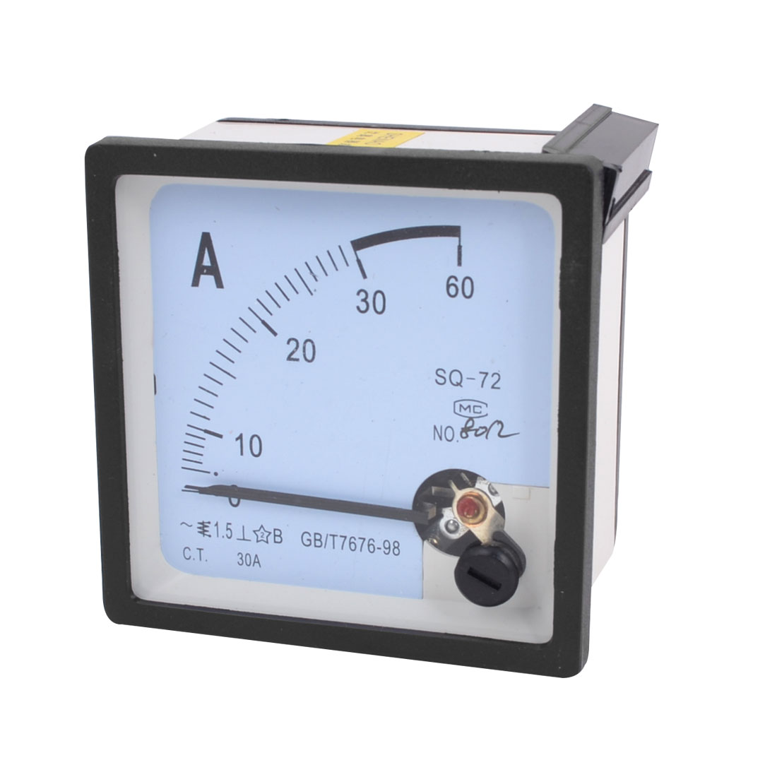Laboratory Square Shaped Current Scale Range Ampere Ammeter Panel Meter AC 0-30A