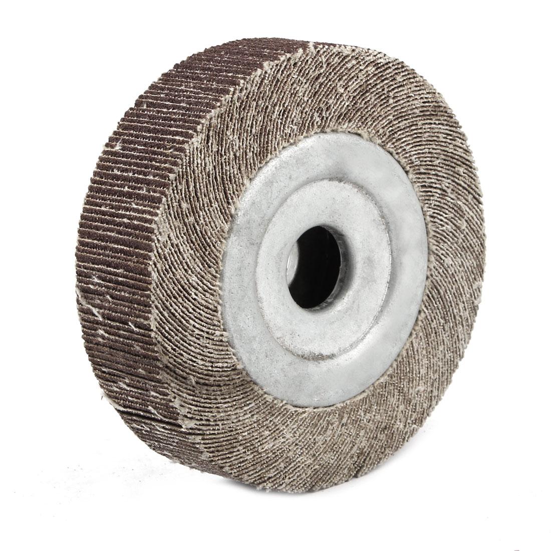 90mm x 16mm x 25mm Sanding Abrasive Flap Wheel Sander Tool