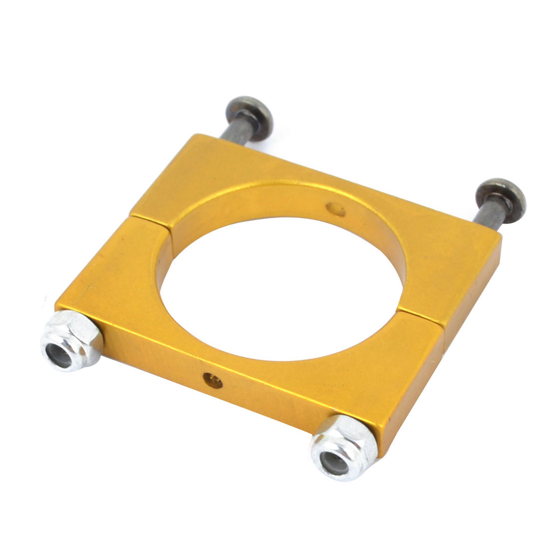 CNC Alloy 22mm Tube Boom Mount Motor Clamp for DIY Quadcopter Yellow