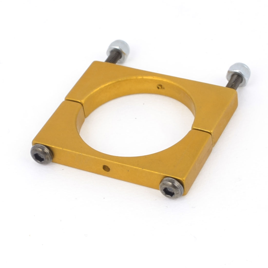 25mm Yellow Aluminum Clamp for Carbon Fiber Tube Quadcopter Hexacopter Octocopter