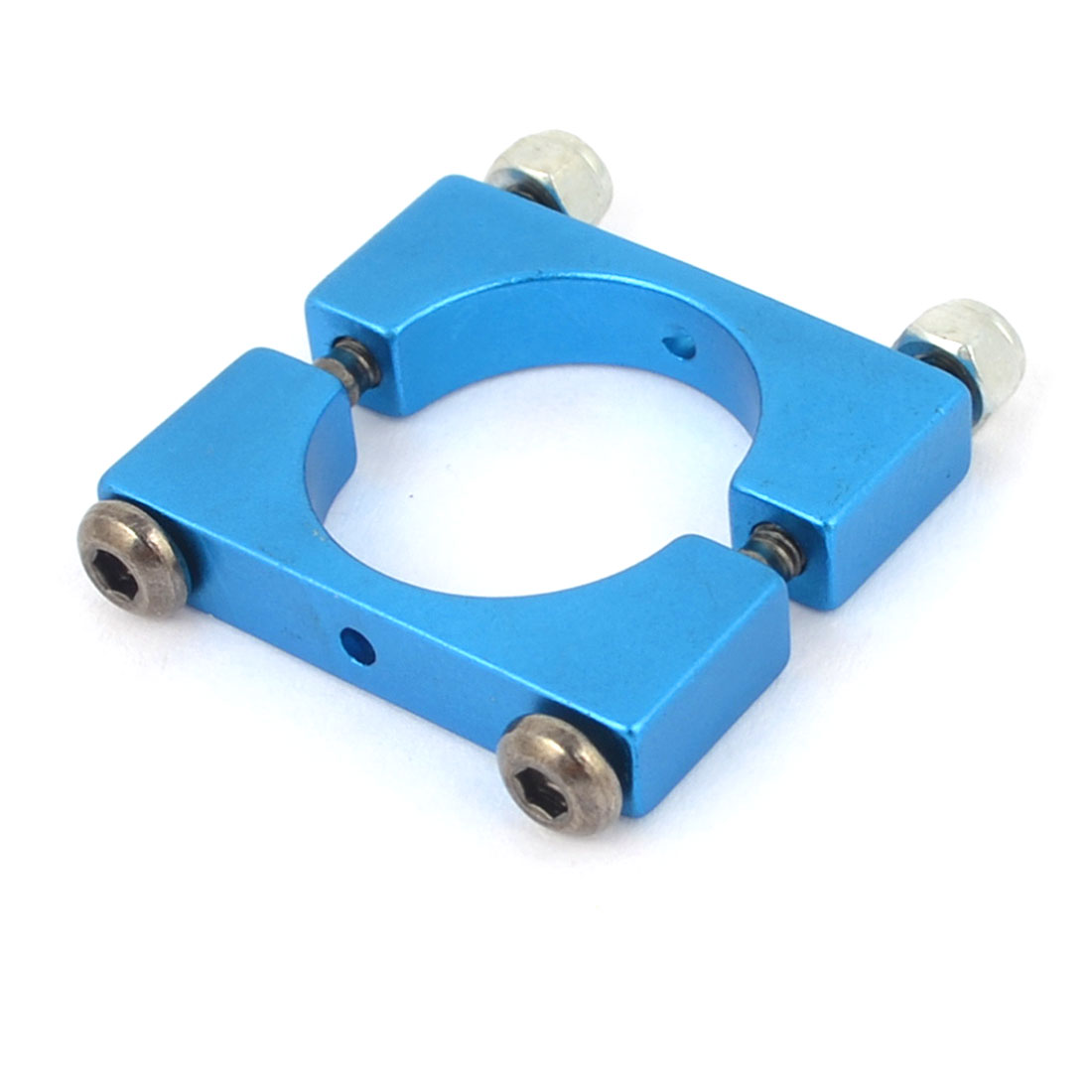 16mm Blue Aluminum Clamp for Carbon Fiber Tube Quadcopter Hexacopter Octocopter