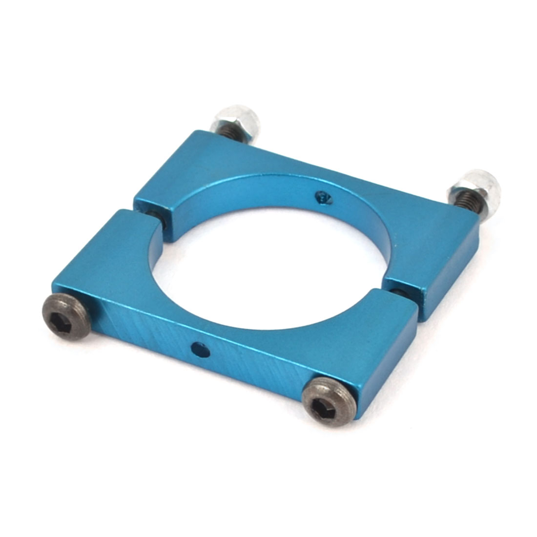 22mm Blue Aluminum Clamp for Carbon Fiber Tube Quadcopter Hexacopter Octocopter