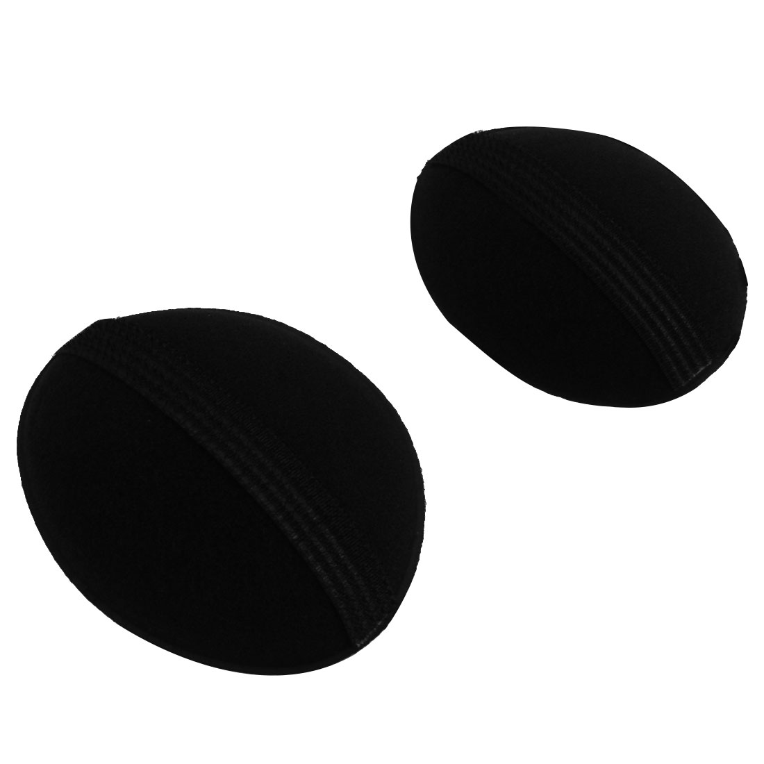 Hairdressing Bump It Up Volume Hair Base Styling Insert Black 2 PCS