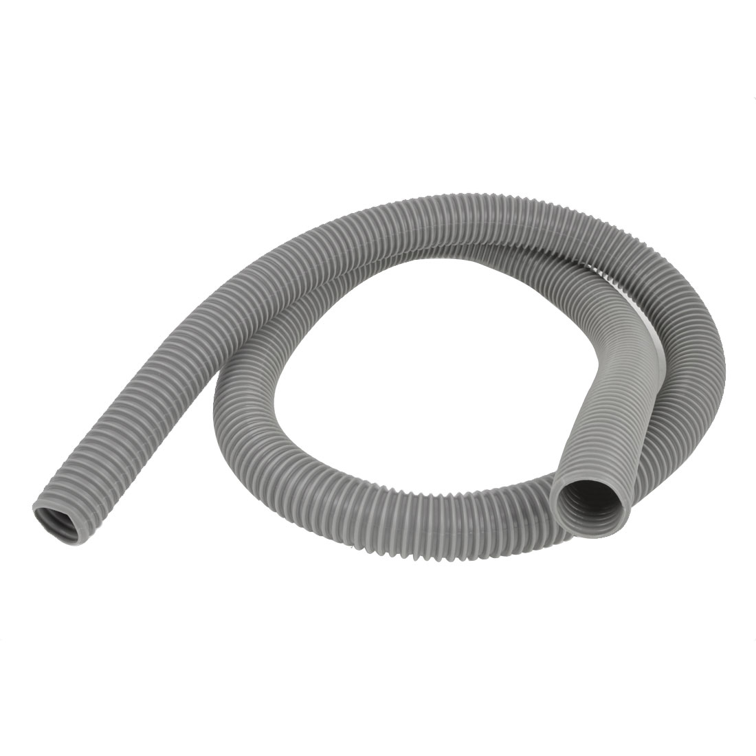 Home 40mm Outer Diameter Vacuum Cleaner PVC Hose Tube Pipe 1.9M Long
