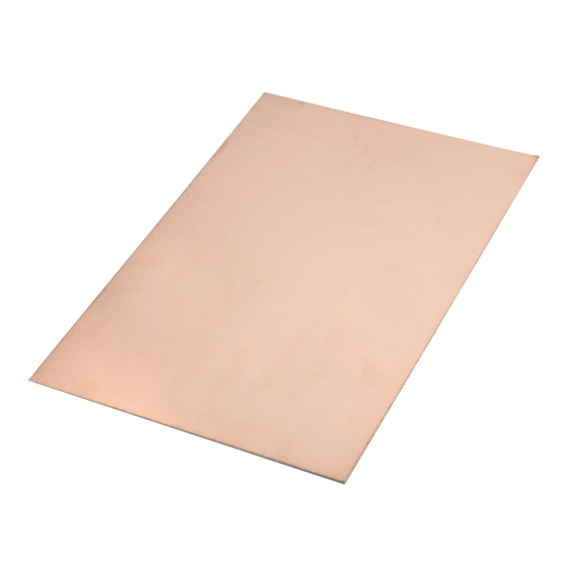 300mm x 200mm Blank Rosybrown FR4 Glass Fiber Single Sided Copper Clad Plated Laminate PCB Circuit Board for DIY