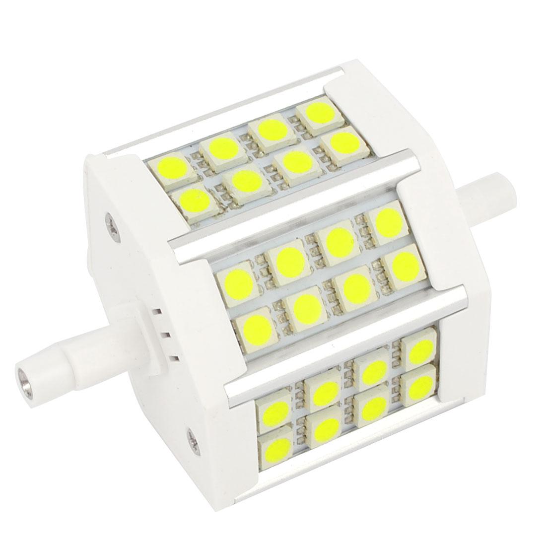R7S AC85-265V 550LM 24 LEDs SMD 5050 White LED Corn Light Bulb