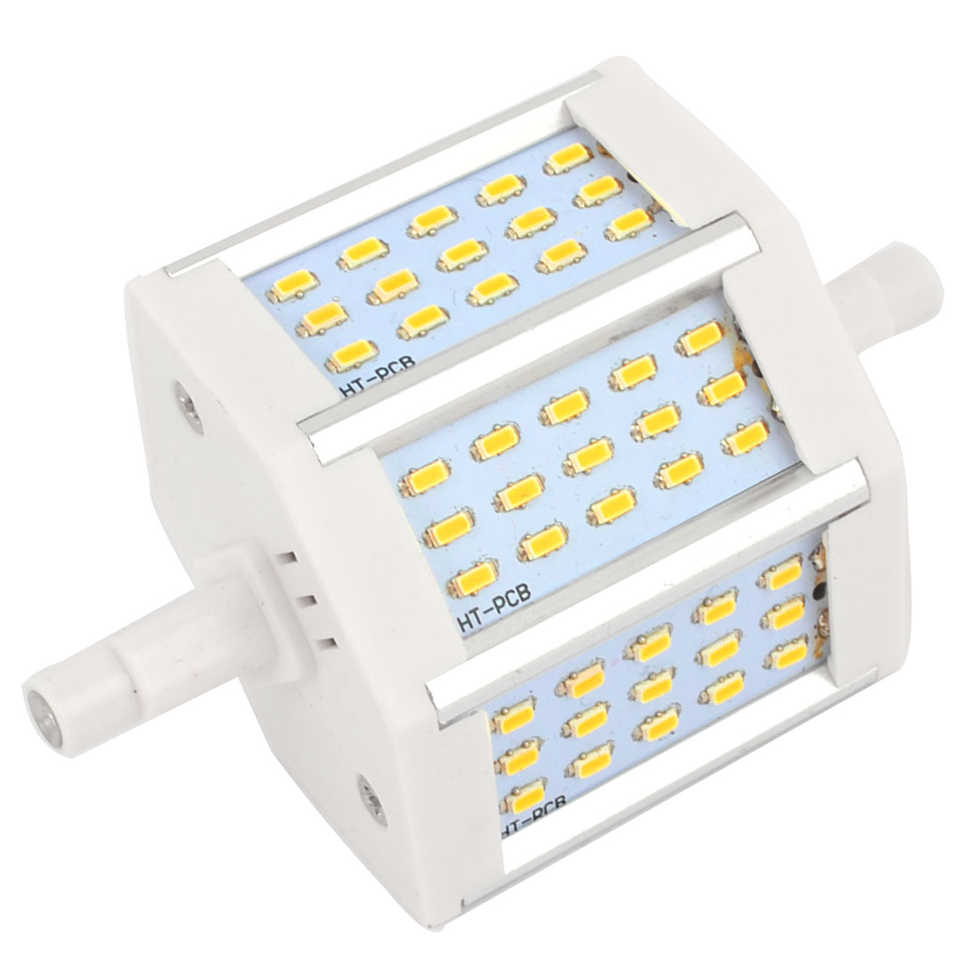 R7S AC85-365V 660LM 45 LEDs SMD 3014 Warm White LED Corn Light Bulb