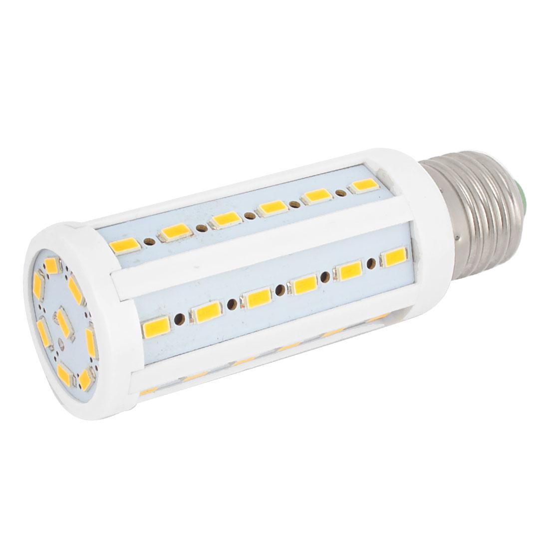 AC200-240V E27 1000Lm 44 LEDs SMD 5630 Warm White LED Corn Light Bulb