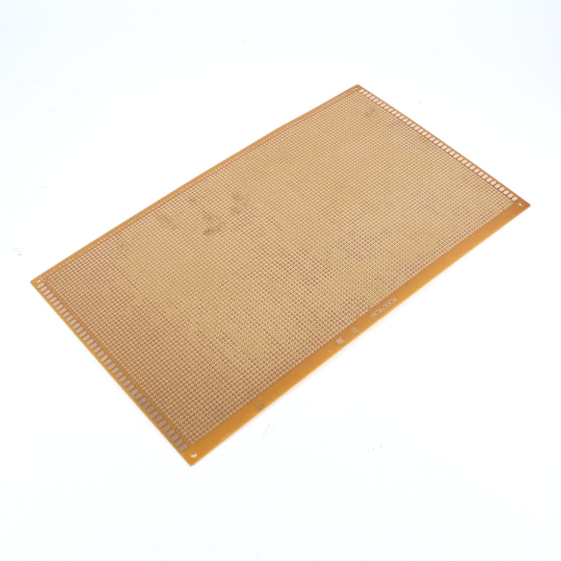 FR-4 Experiment Single Side DIY Prototype Paper PCB Universal Board Breadboard 18x30cm