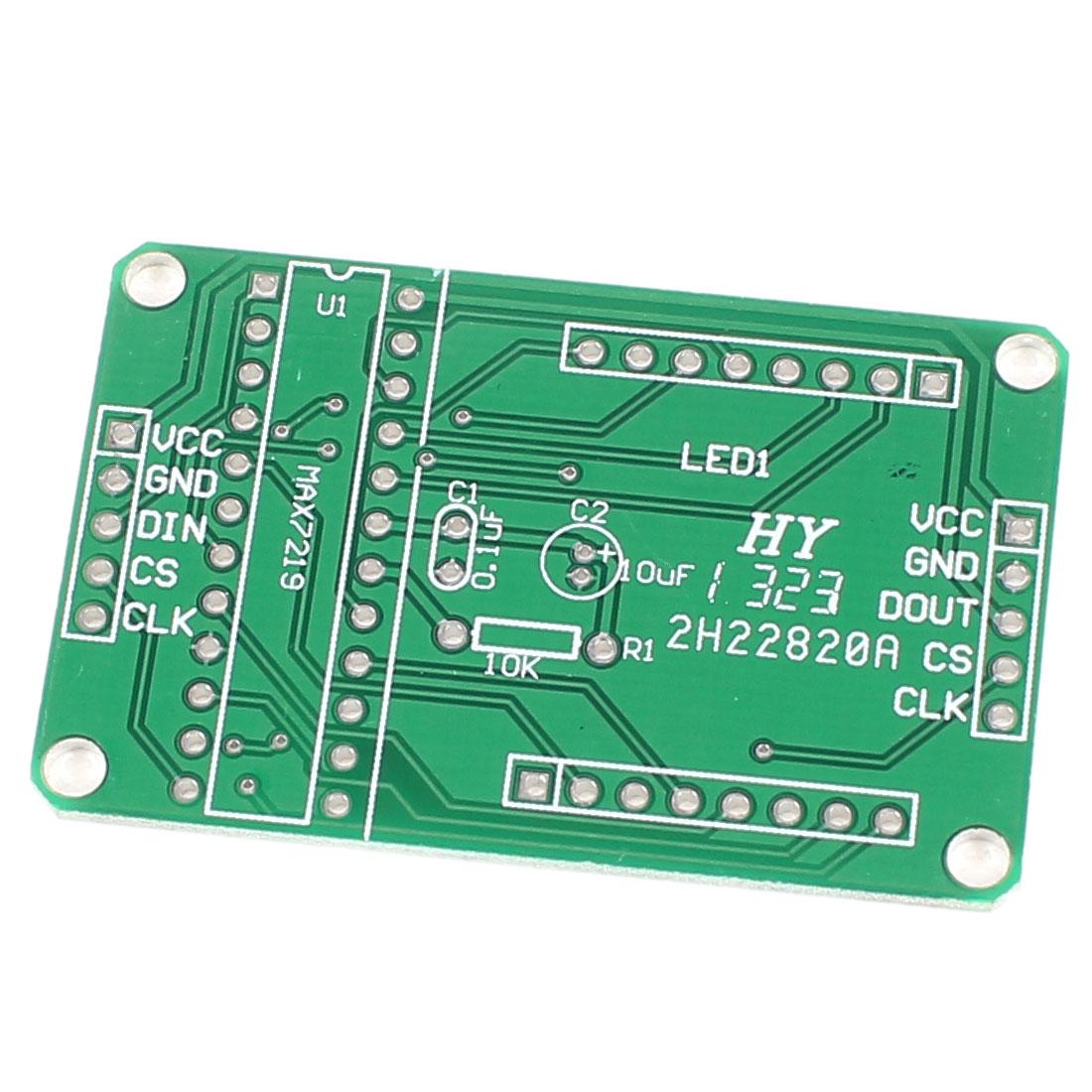 MAX7219 Dot Matrix Module PCB Board for PIC DIY