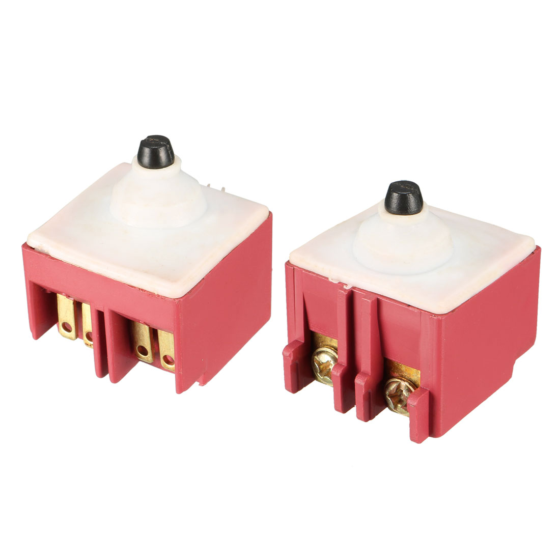 2 Pcs FA6-5/1D-24 Momentary Trigger Switch AC 250V 5A for Bosch Angle Grinder 6-100