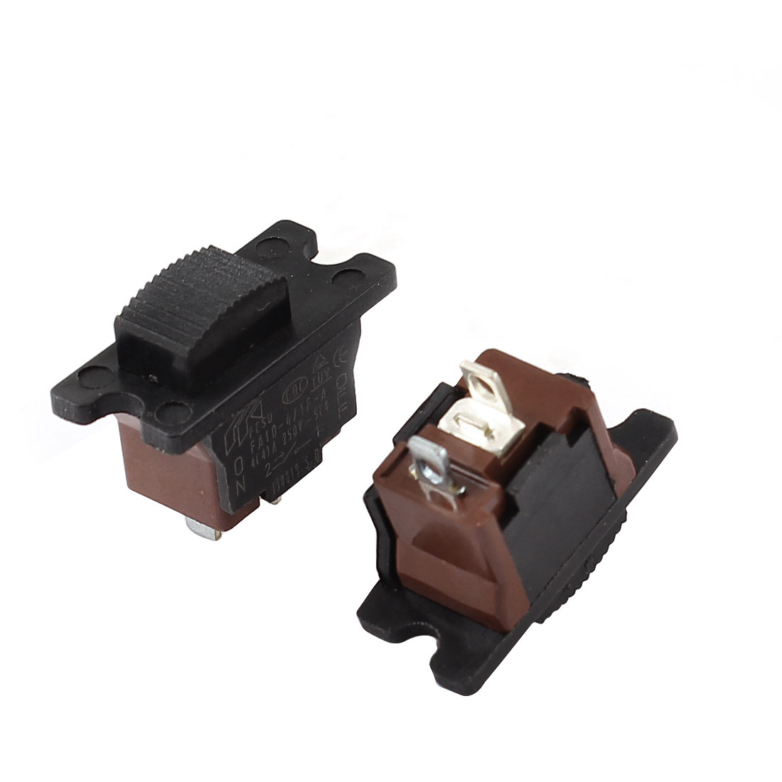 2 Pcs Replacment SPST ON Off Electric Grinder Power Tool Switch AC 250V 4A
