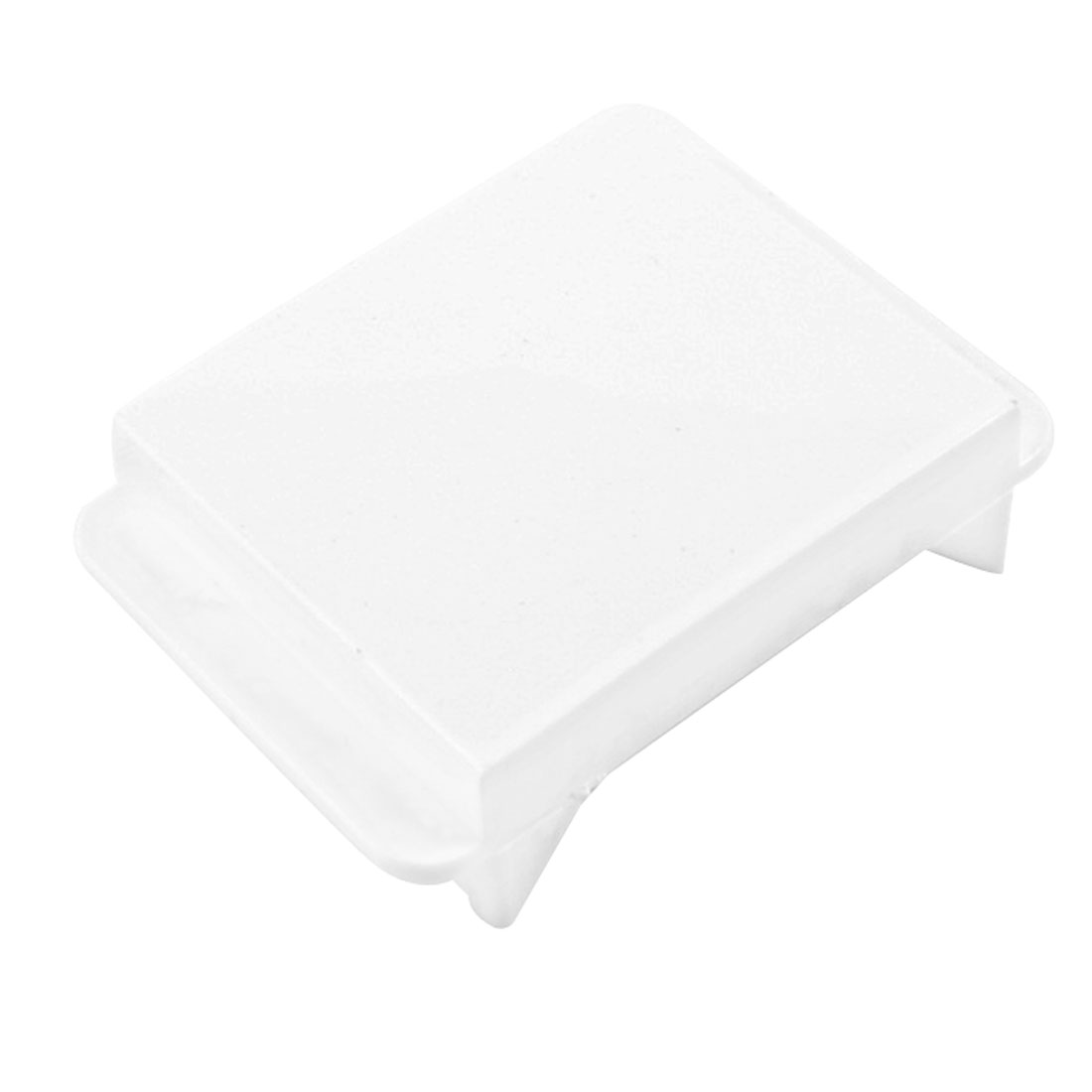 White Plastic Wall Plate Insert Blank Panel for 118 Type Switch Socket
