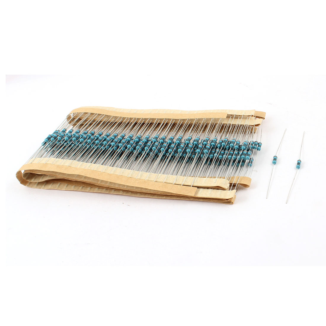 300 Pcs 1/4W 1% 360 Ohm Axial Lead Type Metal Film Resistor