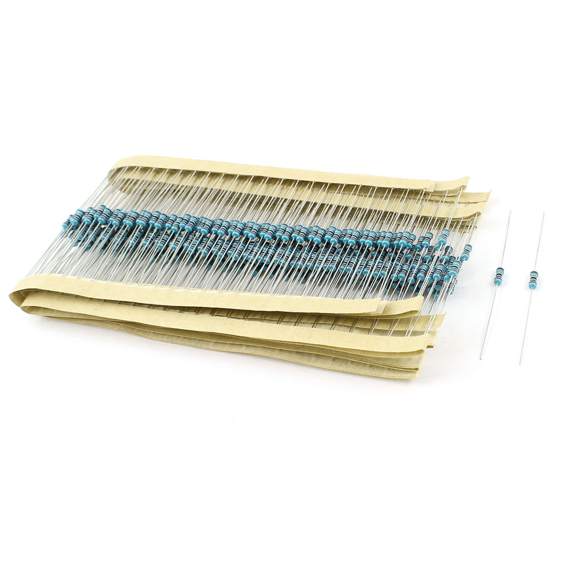 300 Pcs Through Hole 1/4W 1% 820K Ohm Metal Film Resistor 2.2mm x 5.5mm