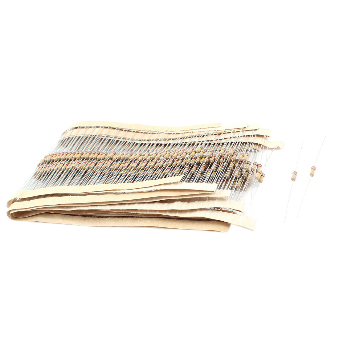 400PCS 0.25W 5% Tolerance 820K Ohm Axial Leads Carbon Film Resistors