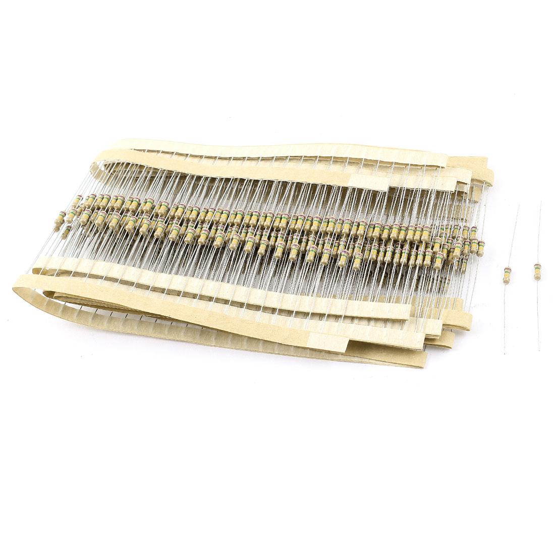 400PCS 0.25W 5% Tolerance 750K Ohm Axial Leads Carbon Film Resistors