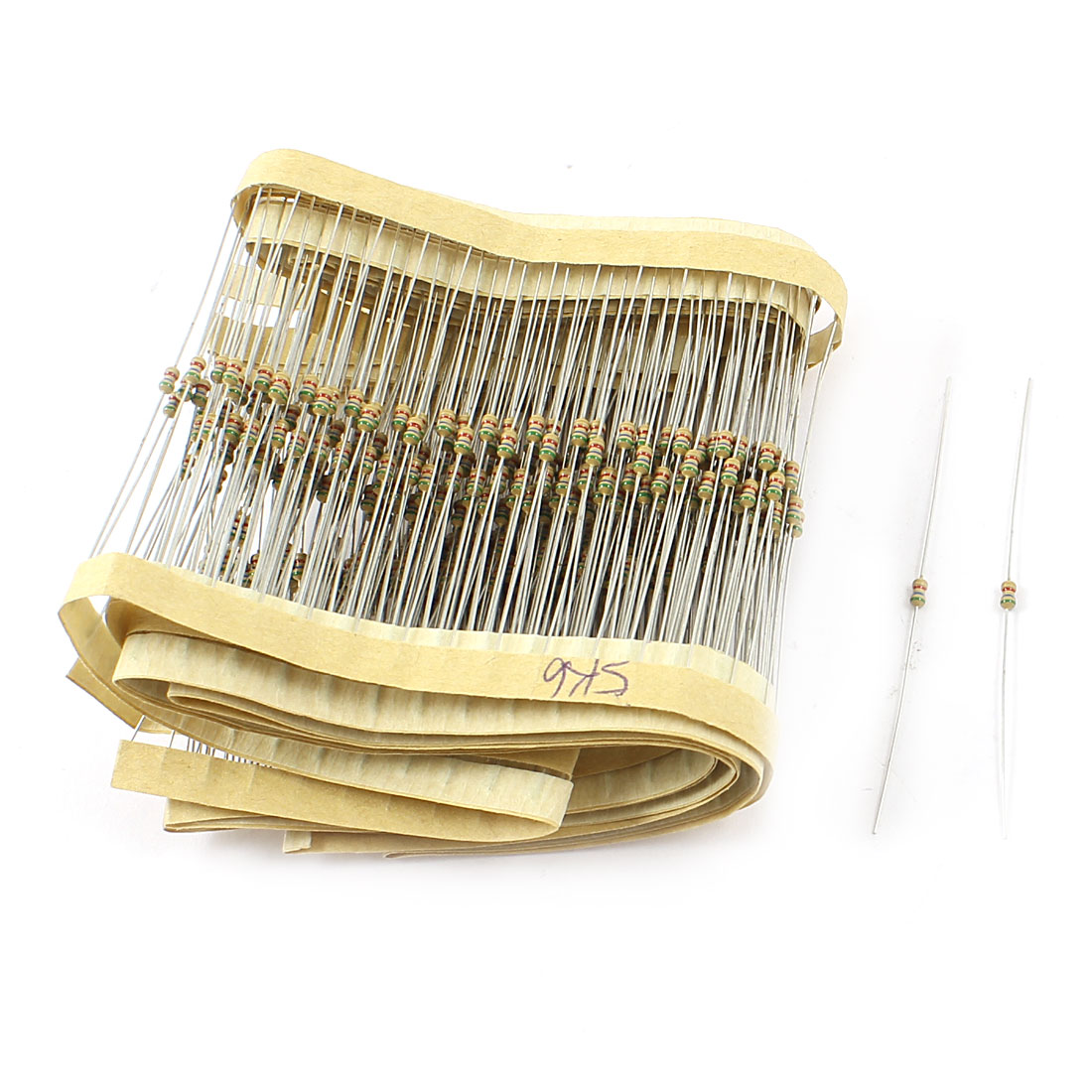 400PCS 1/6W 1/8W 5% Tolerance 5.6K Ohm Axial Leads Carbon Film Resistors