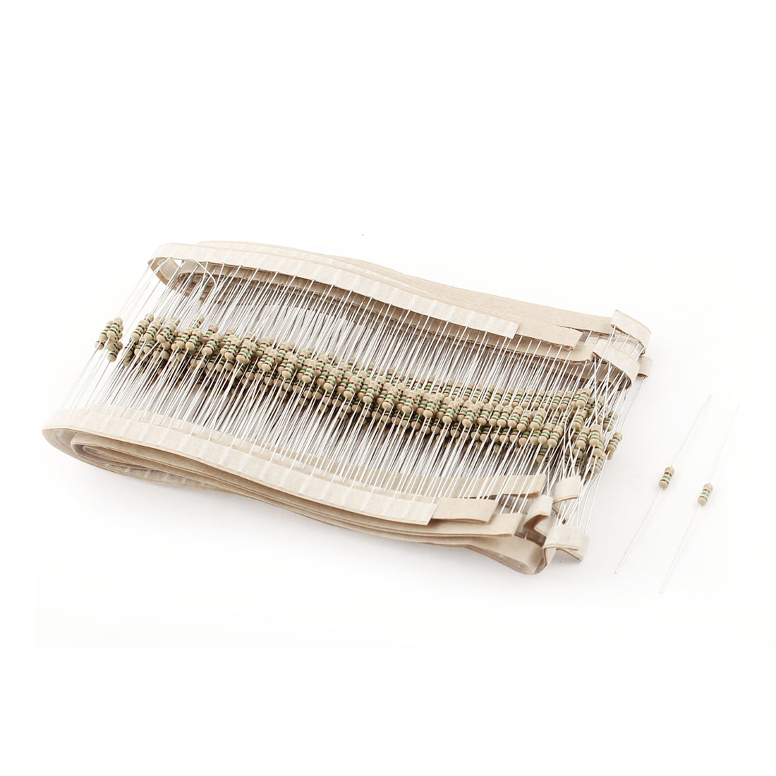 400PCS 1/6W 1/8W 5% Tolerance 150 Ohm Axial Leads Carbon Film Resistors